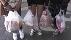 Single-use bags will be gone from all major supermarkets on January 1, 2019. (Photo / NZME)