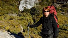 Wendy Faulkner has complained after being charged double while hiking the Routeburn Track. (Photo / Supplied)