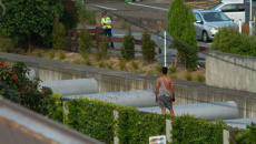 Man charged following 11-hour Terrace Tunnel incident in Wellington city