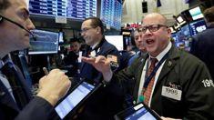 Stocks pull a U-turn and soar after jobs report, trade talks