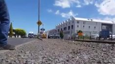 Ute's close call at level crossing stuns onlookers