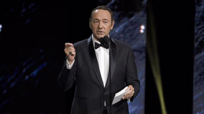 If convicted, Spacey faces as many as five years in prison. Photo / AP