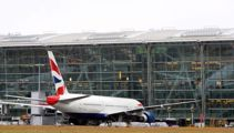 London's Heathrow Airport halts departures after drone sighting