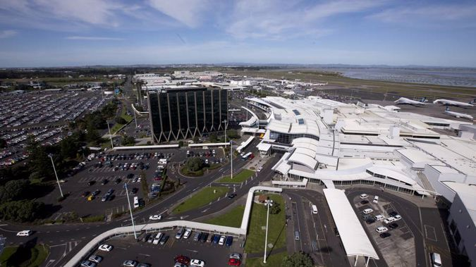 Auckland airport.
