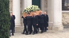 Grace Millane remembered during funeral in hometown overnight