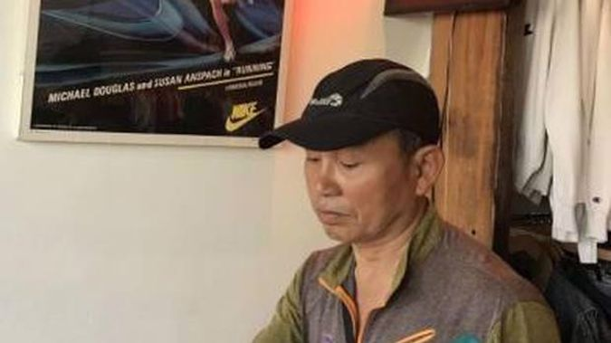 A body believed to be missing fisherman Myung Kang has washed up near Muriwai, west of Auckland.