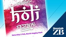 Christchurch Holi Festival 2019 at North Hagley Park