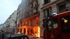 Dozens injured in Paris bakery explosion