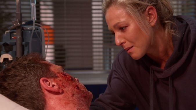 Nurse Kylie has turned double murderer. (Photo / TVNZ)