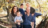 Prince William and Catherine, the Duchess of Cambridge, with their children - Prince George, Princess Charlotte and baby Prince Louis, all of whom have multiple godparents. Photo / AP