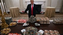 He's lovin' it: Trump feeds White House guests McDonald's