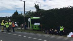 Christchurch locals shocked after witnessing bus and car crash