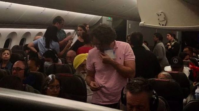 The flight from Auckland to Los Angeles had to be diverted to Hawaii. (Photo / Supplied)