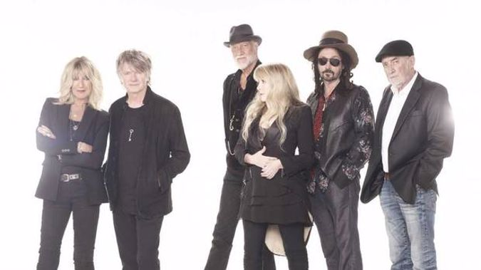 The new Fleetwood Mac lineup, featuring NZ's own Neil Finn. Photo / Supplied