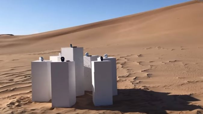 Africa by Toto to play on loop in Namibian desert for all eternity