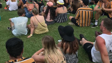 Cotton On shirt becomes unofficial uniform of Australian music festivals