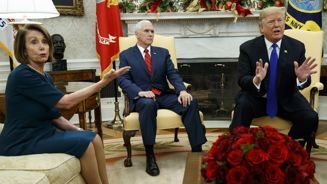 President Trump hits back at House Speaker Nancy Pelosi