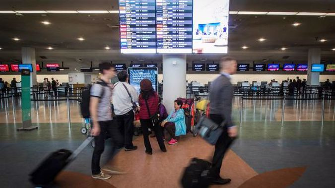 A problem with the baggage check-in system has caused delays for some flights at Auckland Airport. Photo / File