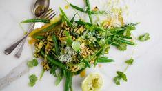 Mike van de Elzen: Courgette salad