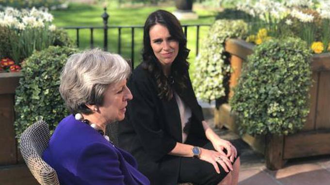 How Theresa May's drama hurts and helps Jacinda Ardern