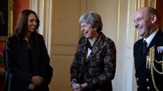 Prime Minister Jacinda Ardern signs deal with British PM Theresa May