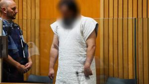 The 36-year-old facing a murder charge appeared in Whanganui District Court on Wednesday afternoon. (Photo/ Lewis Gardner)