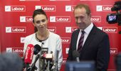 Jacinda Ardern and Andrew Little, seen here in a file photo, have been making headlines overseas. (Photo / NZ Herald)