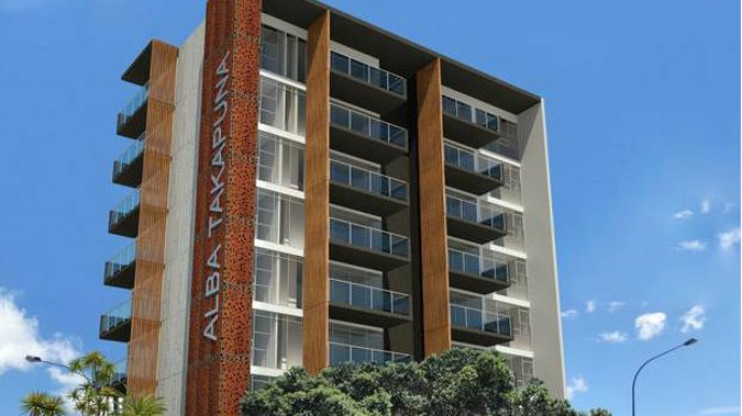 Residents living next to Alba in Takapuna say they are being subjected to a variety of issues. (Photo / Supplied)