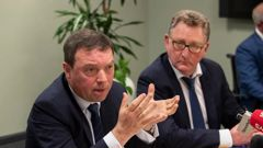 FMA chief executive Rob Everett (left) and Reserve Bank Governor Adrian Orr. (Photo / NZ Herald)