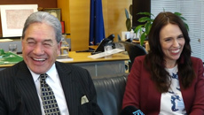 Winston Peters dismisses criticism of Jacinda Ardern as 'small minded' and 'petty'