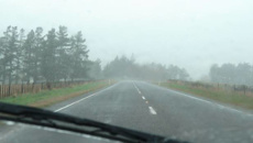 Wellington drivers warned of 'summer ice'