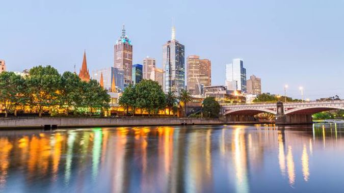 Melbourne house prices have had record declines. Photo / File
