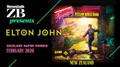 Elton John's farewell Yellow Brick Roadtour to NZ