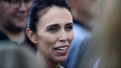 Jacinda Ardern has kicked off her busy week at Waitangi. (Photo / Getty)
