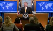 Mike Pompeo made the announcement yesterday. (Photo / AP)