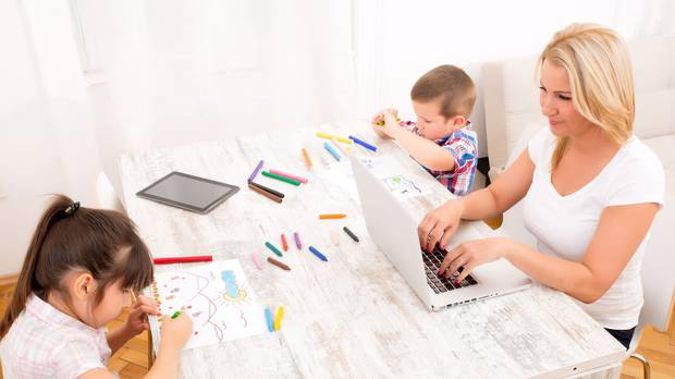 A study has found working mums 18 per cent more stressed than other people.