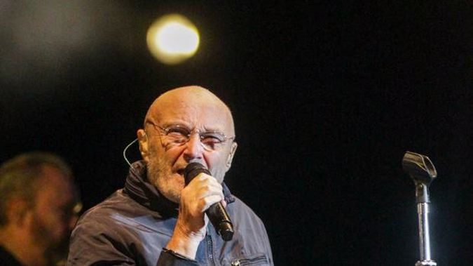 Phil Collins rocked Napier from his chair on Wednesday night. (Photo / Paul Taylor)
