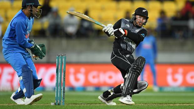 Tim Seifert played a big role in securing the Black Caps victory. (Photo / Photosport)