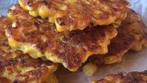 Corn and cherry tomato 'hushpuppies' recipe