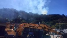 Fire on Wellington's Tinakori Hill