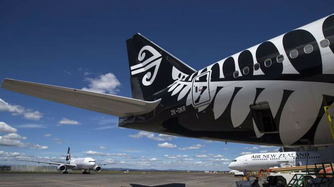 The flight was turned back around because of a permit issue, one passenger reported. (Photo / NZ Herald)