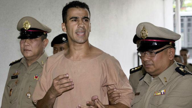 Refugee Hakeem al-Araibi has been imprisoned in Thailand. (Photo / AP)