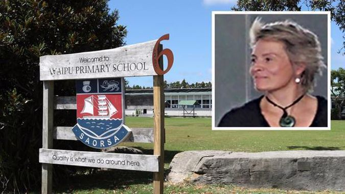 Waipū Primary School principal Jo Brown is now ''working offsite''.