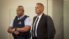 Former top Northland police officer Kevin Burke stands in the dock at the Auckland High Court to face sex charges. (Photo / Dean Purcell)