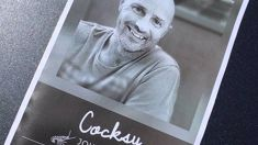Funeral of stories and laughs for TV handyman John 'Cocksy' Cocks'