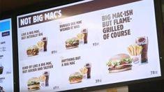 Burger King trolls McDonald's for losing Big Mac trademark