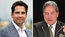 Winston Peters mocks Simon Bridges accent in Parliament speech