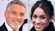 George Clooney compares Meghan Markle vilification to Princess Diana