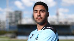 Shaun Johnson could miss the Sharks season opener or be forced out of the club completely depending on the outcome of the NRL's investigation into the Sharks salary cap woes. Photo / Getty Images.