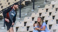 Laura McGoldrick and Martin Guptill on juggling family with work